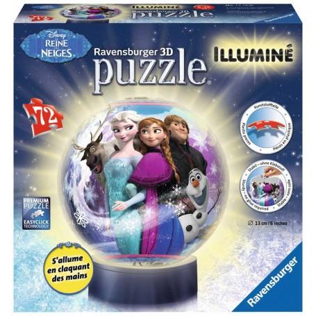 Puzzle 3d La Reine des Neiges