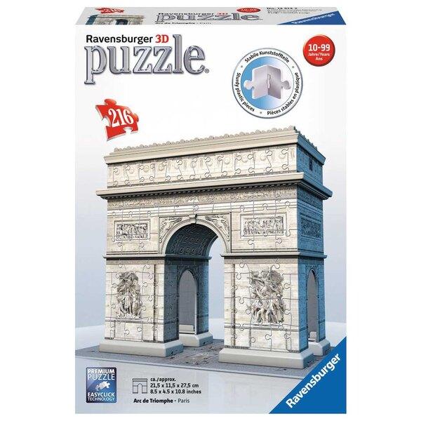 Arc de Triomphe Puzzle 3d
