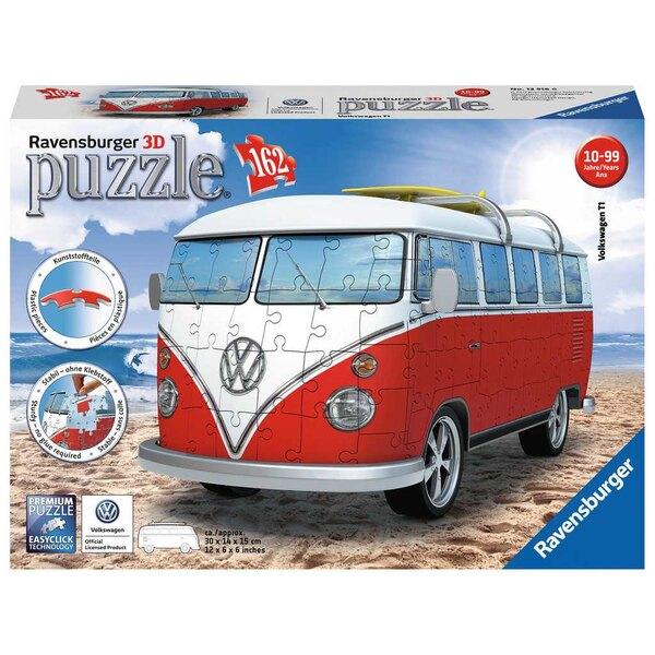 Volkswagen Combi T1 Puzzle 3d