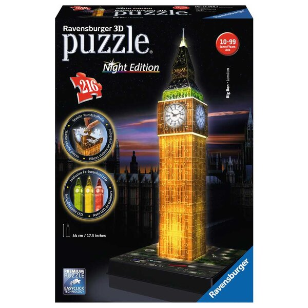 Big Ben - Night Edition Puzzle 3d
