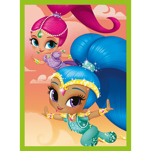 Shimmer And Shine Puzzle 12 pièces