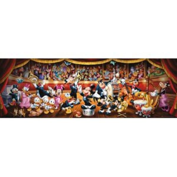 Panorama - L' Orchestre Disney (A2x1) Puzzle 1000 pièces