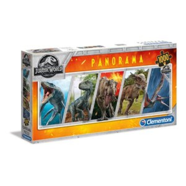 Panorama - Jurassic World Puzzle 1000 pièces