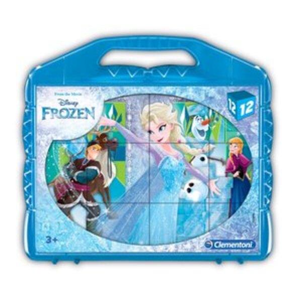 La Reine des Neiges (New Style) (Ax2) Puzzle 12 pièces