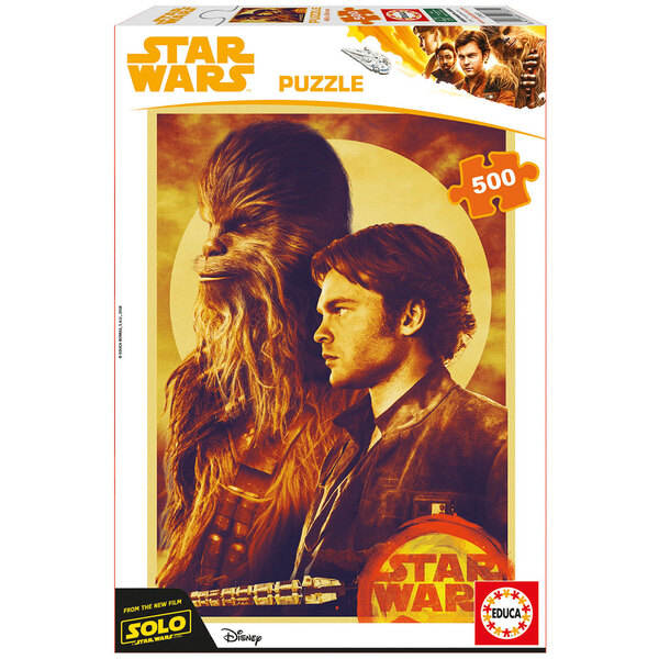 Han solo, une histoire de star wars Puzzle 500 pièces