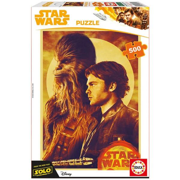 Puzzle Han solo, une histoire de star wars