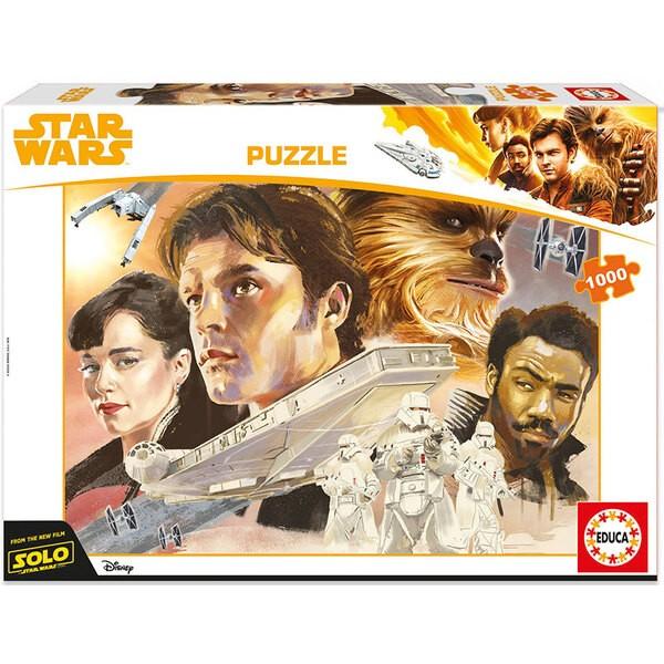 Han solo, une histoire de star wars Puzzle 1000 pièces