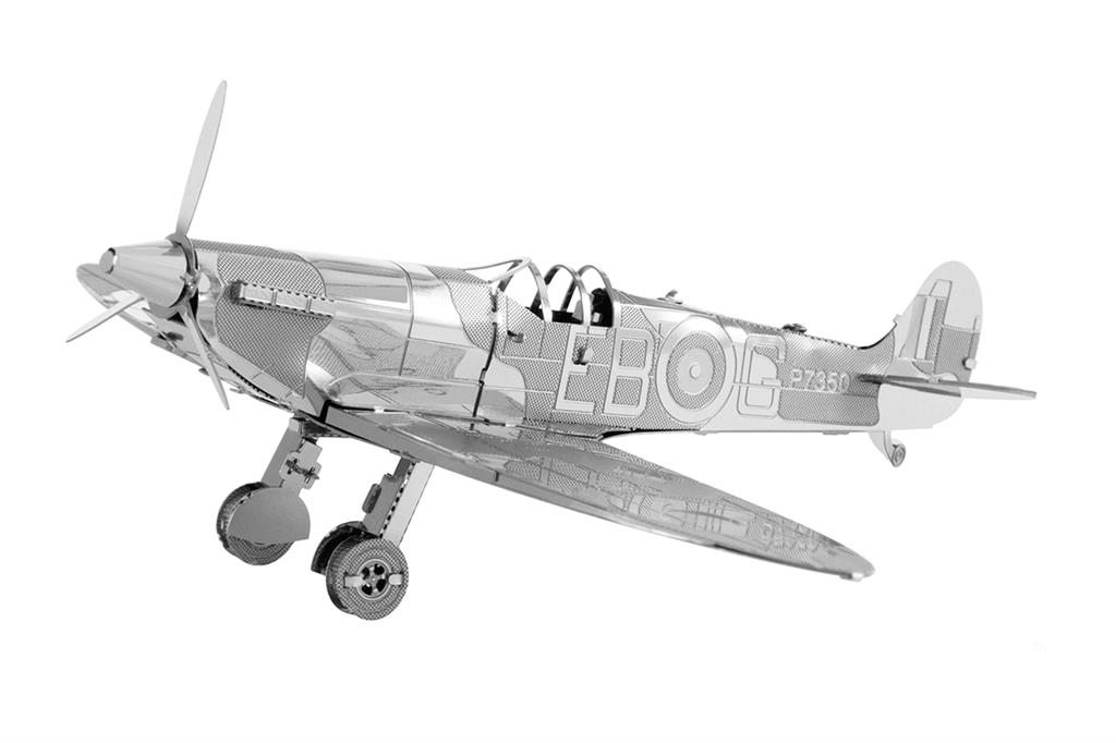 Maquette d'avion - Aviation: WWII SUPERMARINE SPITFIGHTER --Metal Eart