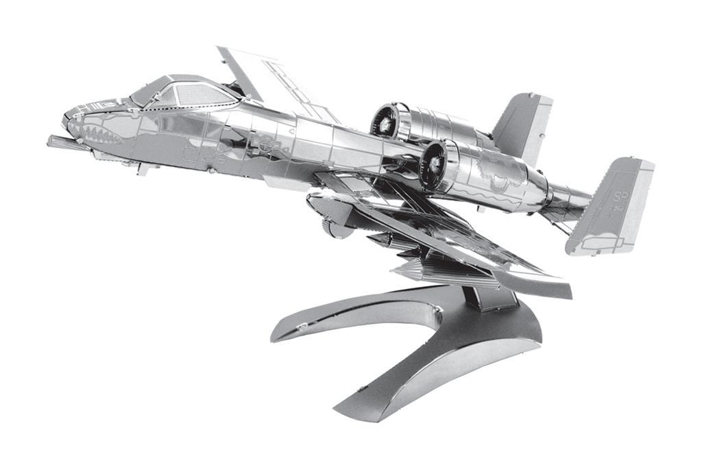 Maquette d'avion - Aviation: A10 THUNDERBOLT II --Metal Earth