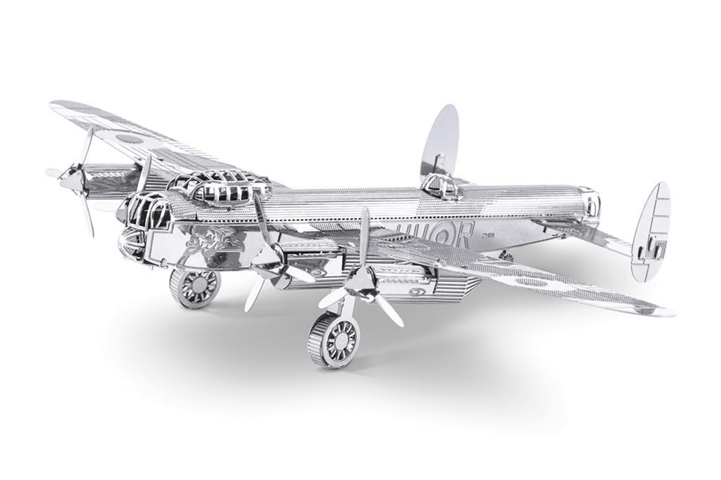 Maquette d'avion - Aviation: BOMBARDIER LANCASTER --Metal Earth