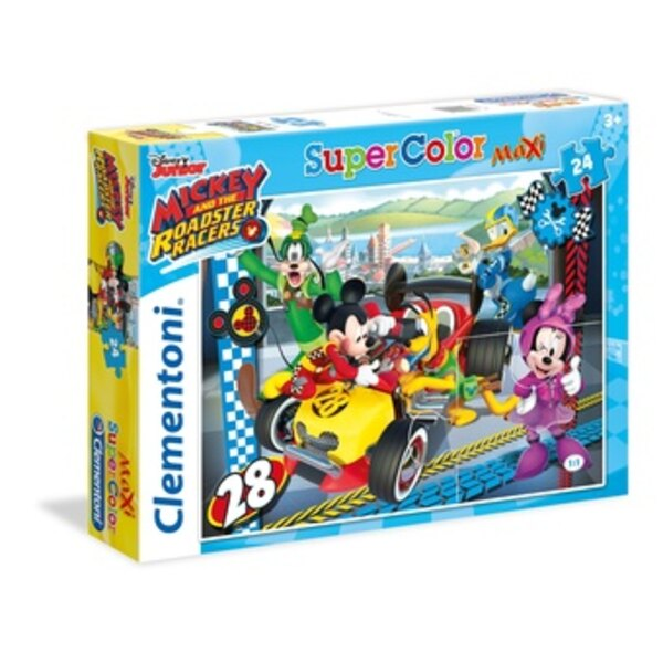 Mickey and the Roadster Racers Puzzle 24 pièces