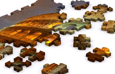 puzzles de monuments