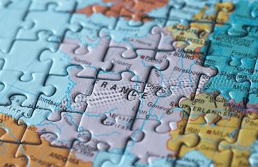 Puzzles Ländern
